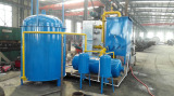 Oil sluge fully continuous plant running in china
