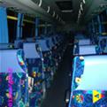 Bus passenger seat installation instance