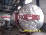 Large vulcanizing boiler for rubber products