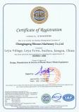 ISO9001-2000 certificates