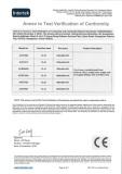 CE Certificates For Ceramic Basin