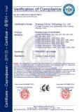 CE Certificate LVD of MCCB FNT9M