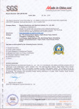SGS Factory On-sited Audit Report