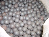 Dia100mm forged grinding ball 60MN material