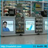 LED Slim Crystal Light Box for Supermarket