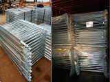 hot dipped galvanized pedestrian barrier exported to USA