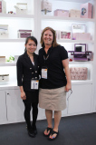 pics. with our old customer in HK Gift Show