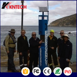 Blue Light Station helpline phone kntech KNEM-21 emergency call station solar SOS telephone
