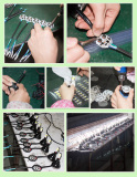 motorcycle light production line