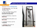 Scaffold Test Procetures