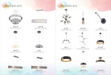 led pendant light / ceiling light