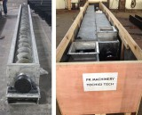Stainless Steel Screw Conveyor Used for Gelatin was Delivered to Philippines