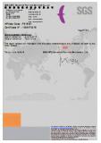 SGS Certificate of Dicalcium Phosphate