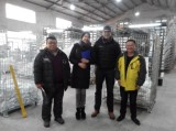 Germany client visit our factory