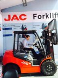 JAC forklift′s customers at 118th Caton Fair