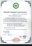 Raw organic certification