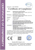 EMC Certificate of Wash Light