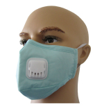 Reusable Cotton Mask with Valve