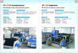 Hot melt adhesive film coating machine