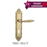 Zinc alloy plate handle
