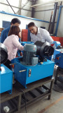 client check our hose crimping machine