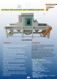 Conveyor automatic sandblaster