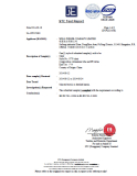 STC TEST REPORT