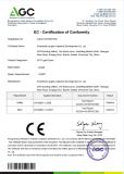 CE Certificate - LC8007 OPT SHR