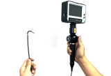 2.8mm industrial videoscope with 4-way tip articulation