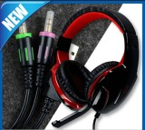 Gaming 3.5mm in-Line Volume Control Headset with Microphone