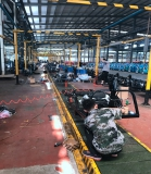 electric cargo tricycle workshop