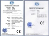 CE for Anion Generator (Direct Current)