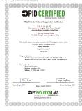 Solar Panel PID Certificate