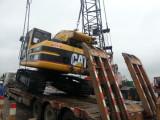 320B Excavator Were Shipped by Bulk Cargo Ship