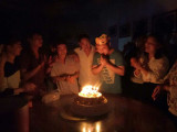 Celebrate collegaue′s brithday