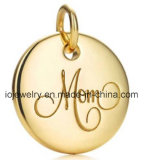 Custom Jewelry 925 Sterling Silver Engraving Charm