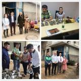 clients visit our factory