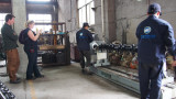 Customer Visiting our Factory
