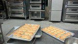 Baking bread (13th Dec. 2015 Distributor Meeting and Baking Show)