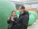 Our European Customers′ Visiting our factory and sign the contract
