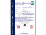CE Certificate of Sublimation machine ST-1520