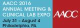 AACC Aug.2-4, 2016, Philadelphia ,PA, USA