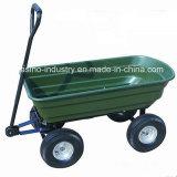 Heavy-Duty Garden Trailer Utility Tool Cart Dumping Cart