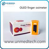 OLED finger pulse oximeter