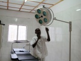 YD01-5 cold light operating lamp in Africa Hospital