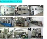Automatic Ultrasonic cleaning machine testing before delivery