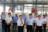 tianming oil comapny welcome leaders from the government