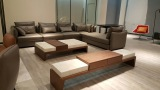 Sofa, Coffee Table, TV Stand Snaped In American Client′s Showroom