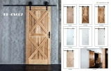 Cutomized barn sliding door