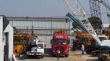 25ton truck crane KATO, TADANO mobile crane